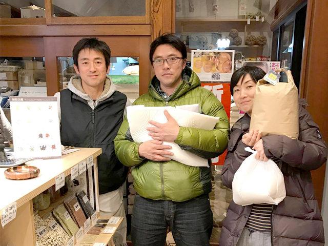 オリジナル商品盛り沢山の「志村屋米穀店」