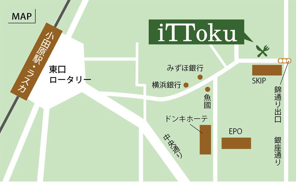 店舗案内の地図